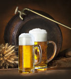 Still life with beer Royalty Free Stock Image