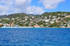 StMaartin, karibische Insel Stockfoto