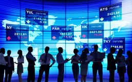 Stock Exchange Market Trading Concepts Royalty Free Stock Images