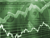 Stock market concept Stock Images