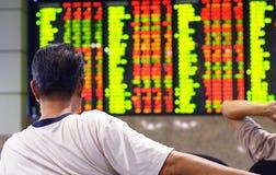 Stock market index Royalty Free Stock Photography