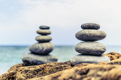 Stones balance inspiration peaceful concept Stock Images