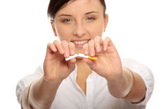 Stop Smoking Stock Images
