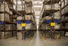 Storage warehouse Royalty Free Stock Images