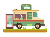 Store fast food van Stock Image