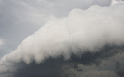 Storm front moves in Stock Photography