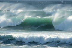 Stormy Coastal Waves Stock Image
