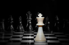 Strategy Chess Game Royalty Free Stock Photos