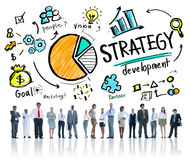 Strategy Development Goal Marketing Vision Planning Business Stock Photo