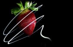 Strawberry Swirl Royalty Free Stock Photography