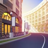 Street retail. Stock Photo