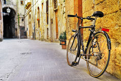 Streets of old  Tuscany, Italy Royalty Free Stock Images