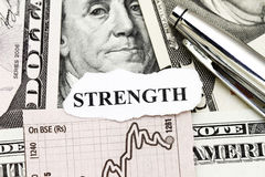 Strength of Business Profit Stock Image