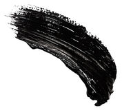 Strokes of black paint Royalty Free Stock Images