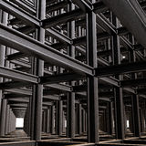 Structural Abstract Royalty Free Stock Photography