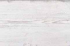 Struttura di legno, fondo di legno bianco Fotografia Stock Libera da Diritti