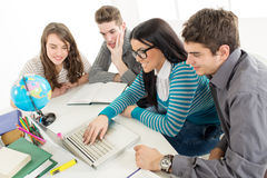 Students Learning Royalty Free Stock Image