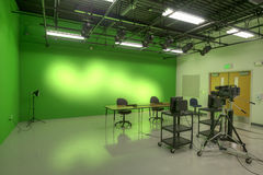 Studio at High School Stock Images