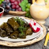 Stuffed Grape Leaves Stock Images