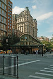 1 2 3 Subway Station at 72nd Street and Broadway in Manhattan, New York, USA. Royalty Free Stock Images