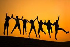 Success Achievement Community Happiness Concept Royalty Free Stock Photos