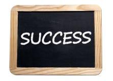 Success motivation board Royalty Free Stock Photos