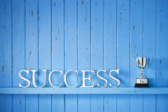 Success Word Background Royalty Free Stock Photography
