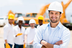Successful male architect Royalty Free Stock Photography