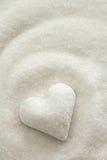 Sugar Heart Imagens de Stock