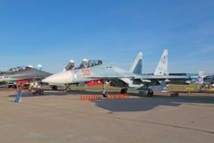 Sukhoi Su-30 Inspektion Stockfotografie