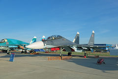 Sukhoi Su-30 Inspektion (Flanker-c) Lizenzfreies Stockbild