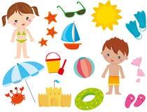 Summer elements Stock Image