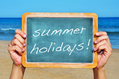 Summer holidays Stock Photos