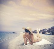 Summer relax Stock Photography