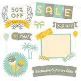 Summer Sale Clipart Royalty Free Stock Photos