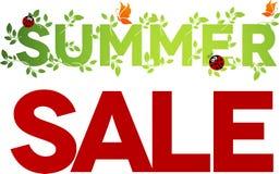 Summer sale design Royalty Free Stock Photo