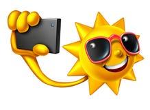 Summer Selfie Royalty Free Stock Images