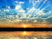 Summer sunrise Royalty Free Stock Photo