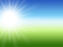 Sun ray summer background Royalty Free Stock Image