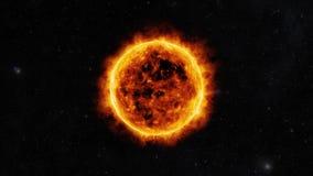 Sun surface Stock Photography