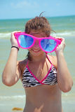 Sunglasses Girl Royalty Free Stock Photo