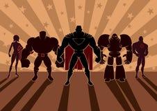 Superhero Team Stock Photo
