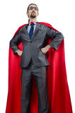Superman isolated on the white Royalty Free Stock Images