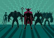 Supervillain Team Royalty Free Stock Photo