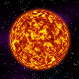 Surface of the sun Royalty Free Stock Photo