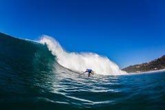 Surfer Wave Bottom Turn  Royalty Free Stock Image