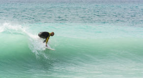 Surfer in Nice France Stock Photography