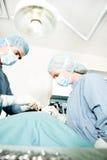 Surgeon Working Stock Photo