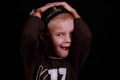 Surprised child. Stock Photos
