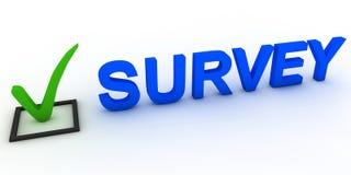 Survey Stock Image